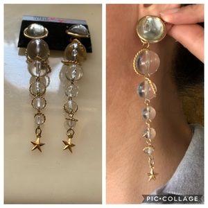 Vintage post earring
